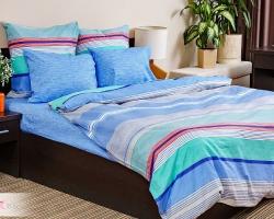 Комплект постельного белья семейный поплин без молнии Стиль